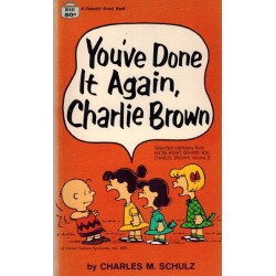 Peanuts pocket USA 25 You've done it again, Charlie Brown first printing 1970 (Snoopy)