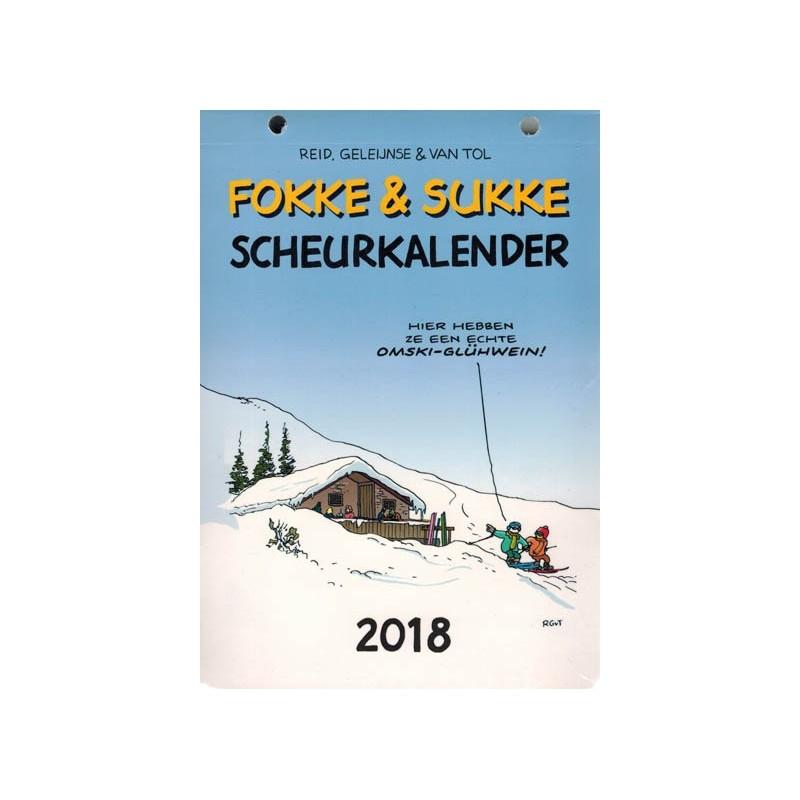 Fokke & Sukke scheurkalender 2018