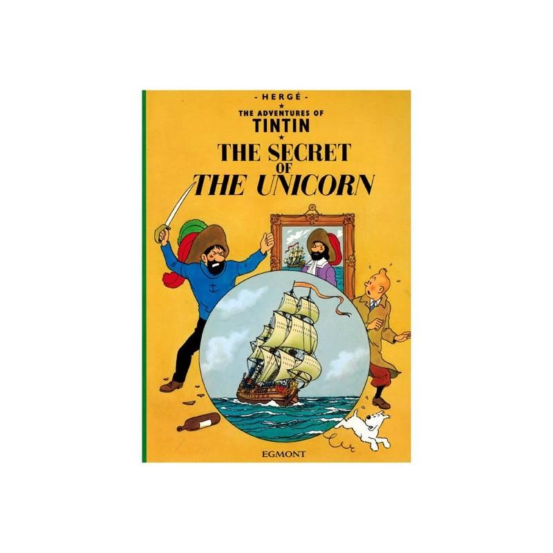 Kuifje UK 10 The secret of the Unicorn