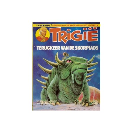 Trigie 28 Terugkeer van de Skorpiads 1e druk 1983