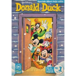 Donald Duck reclame-uitgave set (voor Albert Heijn) deel 1 t/m 3 1e drukken 2011