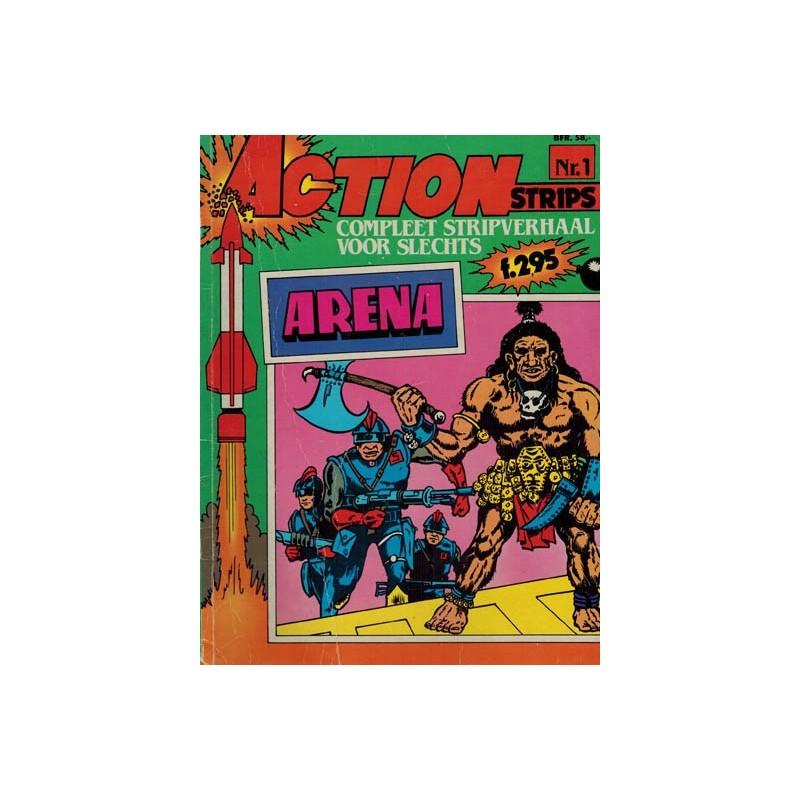 Action strips 01 Arena 1e druk 1983