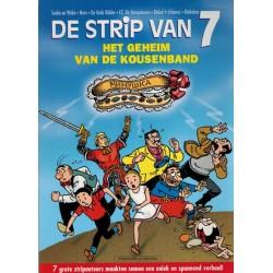 Strip van 7 het geheim van de kousenband 1e druk 2001 (met bijlage)