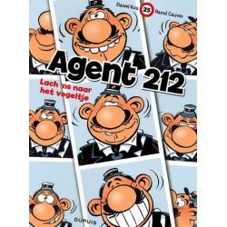 Agent 212 25 Lach 'ns naar het vogeltje herdruk nieuwe voorkant 2006