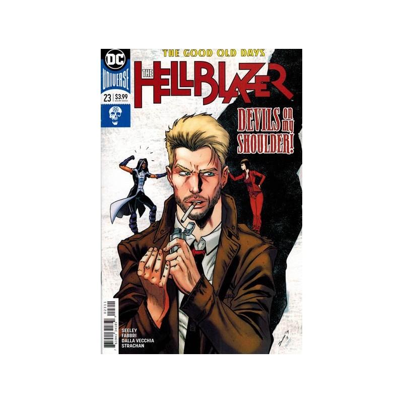 Hellblazer 23 The good old days Devils on my shoulder! First printing 2018
