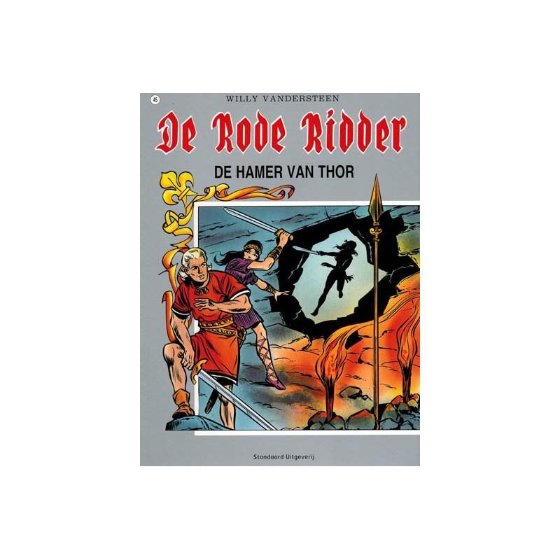 Rode Ridder kleur 045 De hamer van Thor herdruk