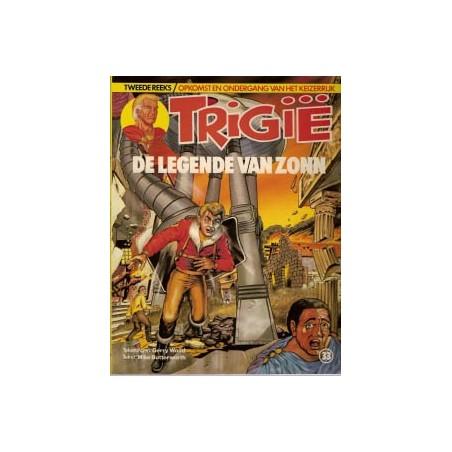 Trigie 33 De legende van Zonn 1e druk 1985
