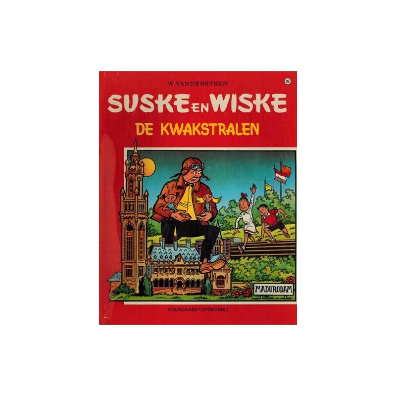 Suske & Wiske 099 De kwakstralen herdruk