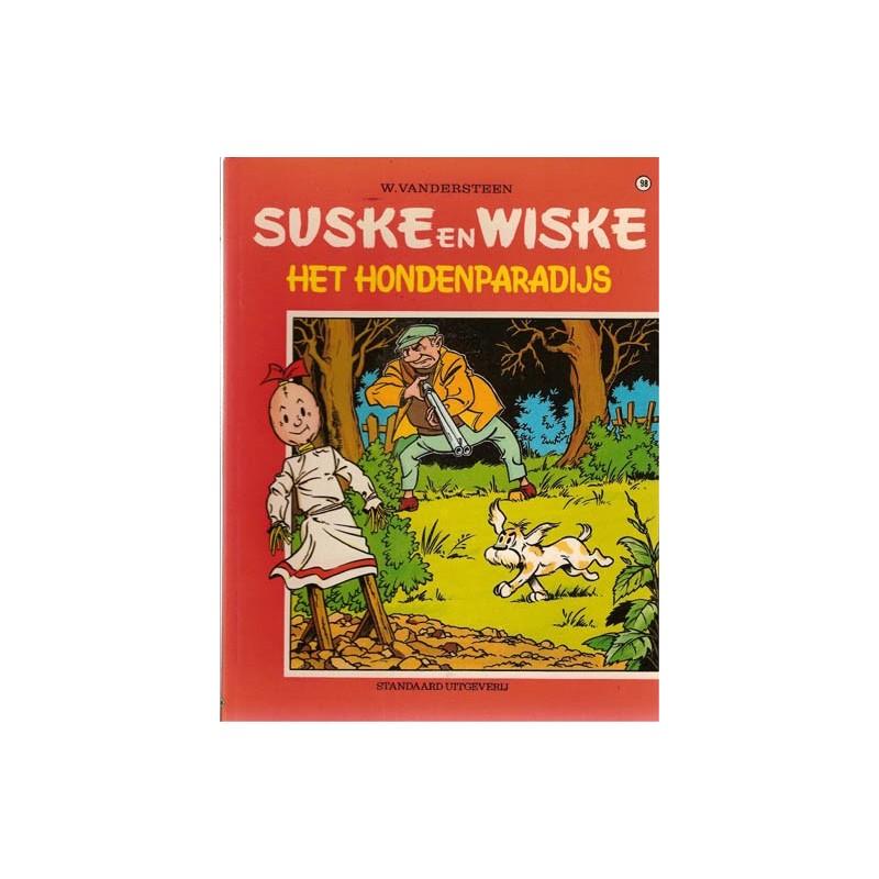 Suske & Wiske 098 Het hondenparadijs herdruk
