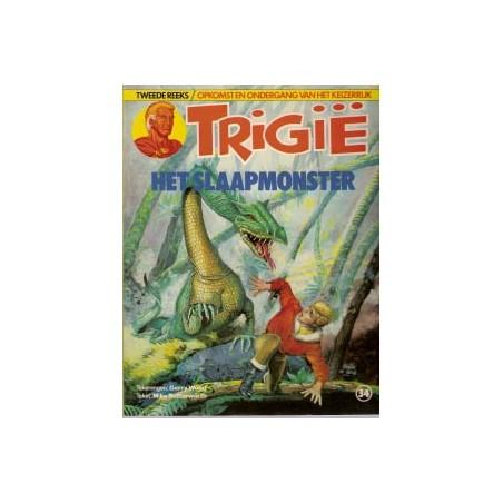 Trigie 34 Het slaapmonster 1e druk 1985
