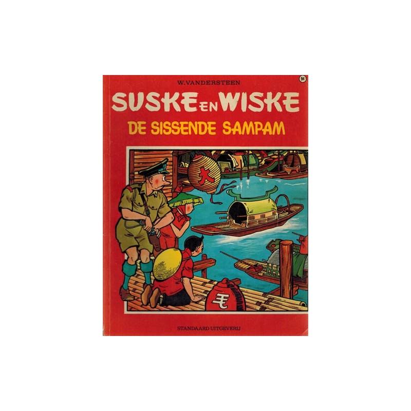Suske & Wiske 094 De sissende sampan herdruk