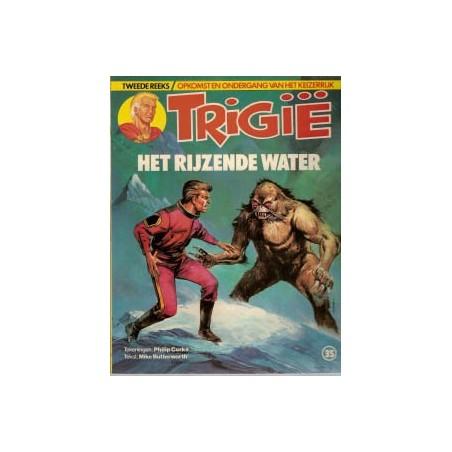 Trigie 35 Het rijzende water 1e druk 1985