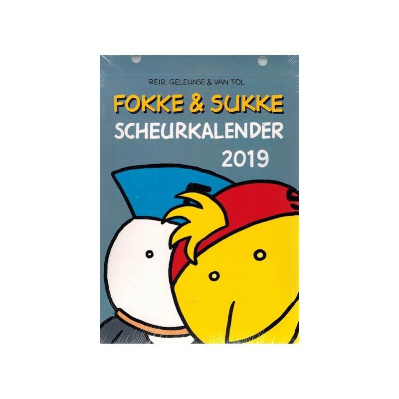 Fokke & Sukke Scheurkalender 2019