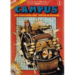Campus set deel 1 t/m 5 1e drukken 1982-1983