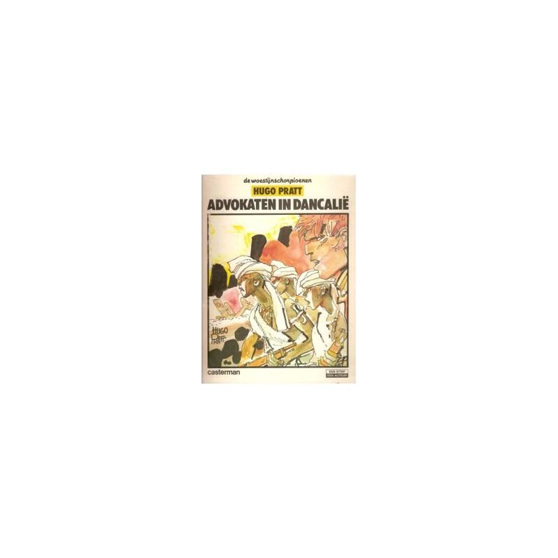 Woestijnschorpioenen Advokaten in Dancalie 1e druk 1982