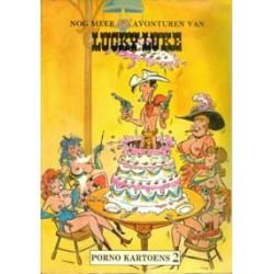 Lucky Luke sexparodie Nog meer sexavonturen van Lucky Luke 1e druk 1985 gelijmde rug