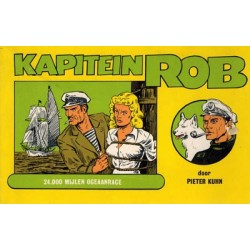 Kapitein Rob oblong S05 24.000 Mijlen oceaanrace 1977