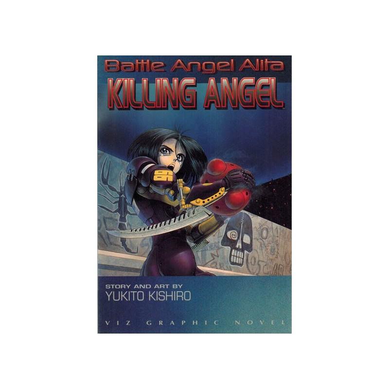 Battle Angel Alita Killing angel first printing1995