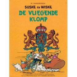 Suske & Wiske reclamealbum De vliegende klomp 2e druk 1975 (Provinciale VVV Noord-Brabant)