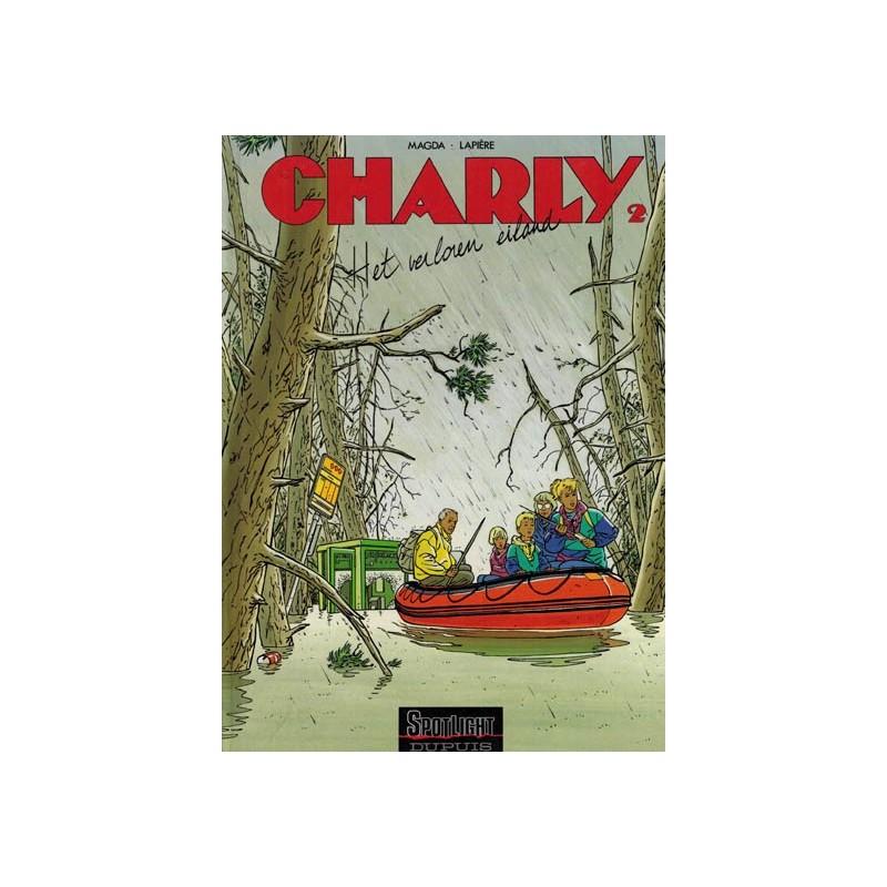 Charly HC 02 Het verloren eiland 1e druk 1992