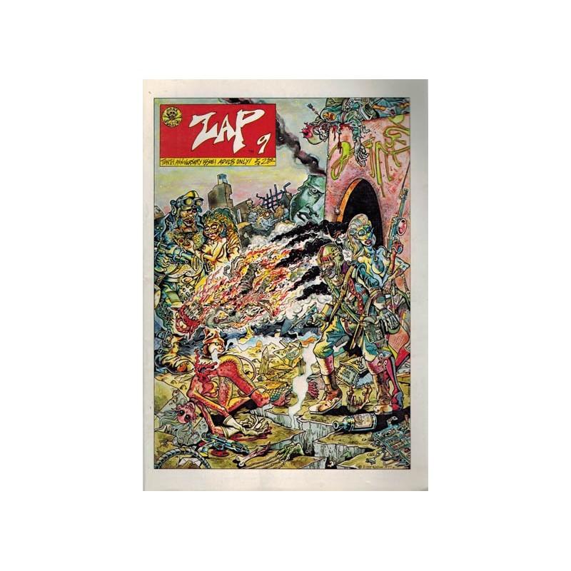 Zap 09 tenth anniversary issue reprint [coverprice $ 2.50]