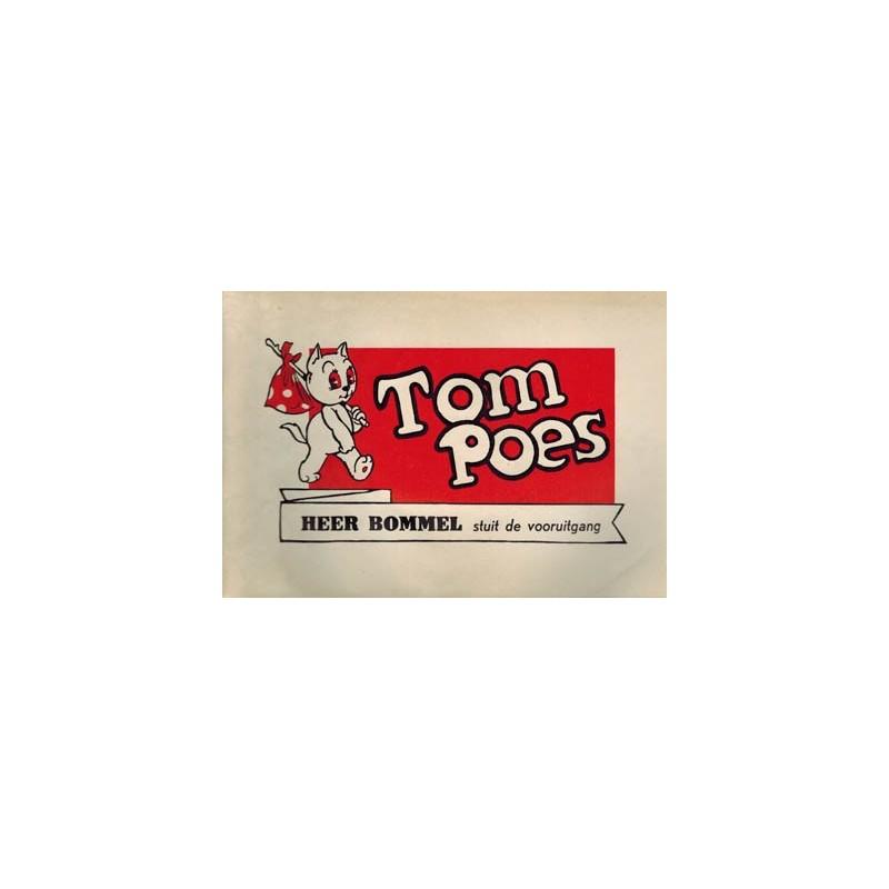 Tom Poes Heer Bommel stuit de vooruitgang illegale uitgave 1975