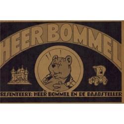 Heer Bommel presenteert De daadsteller illegale 1e druk 1975