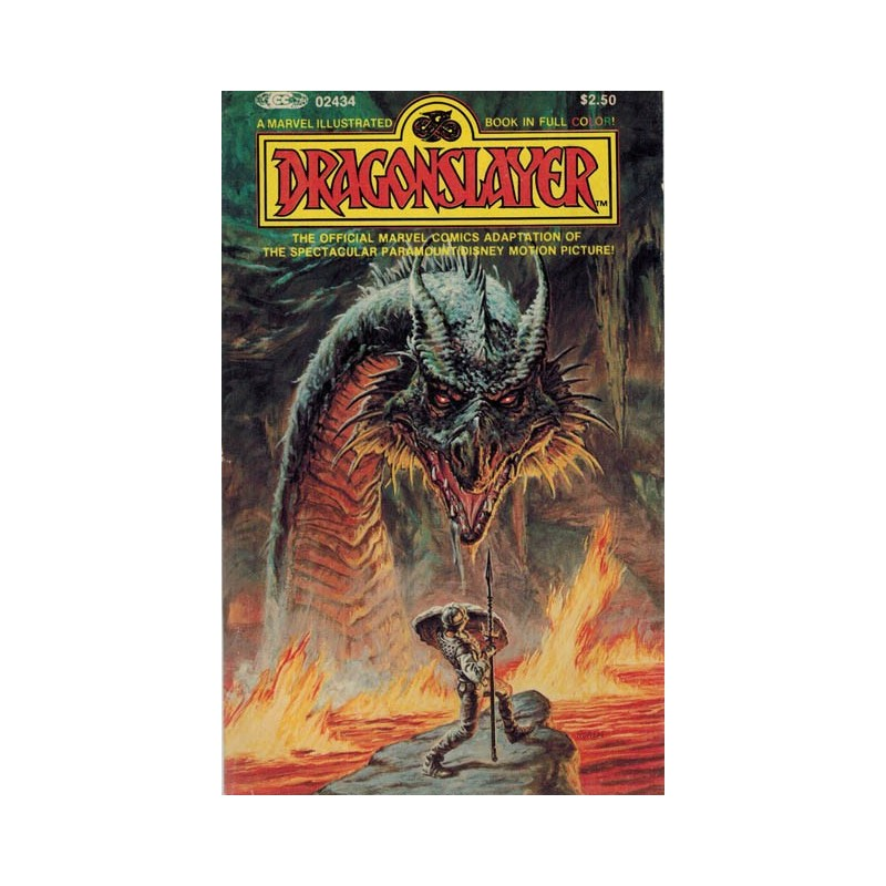 Dragonslayer pocket The official Marvel comics adaption of the movie first printing 1981