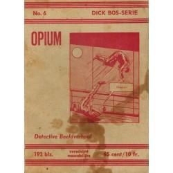Dick Bos N06 opium herdruk 1962