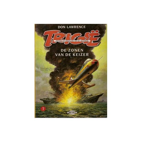 Trigie A07 De zonen van de keizer herdruk 1994