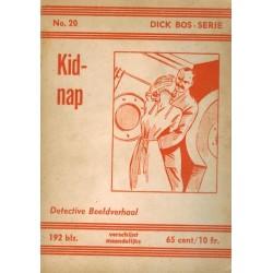 Dick Bos N20 Kidnap herdruk 1963