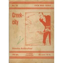 Dick Bos N16 Creekcity herdruk 1962