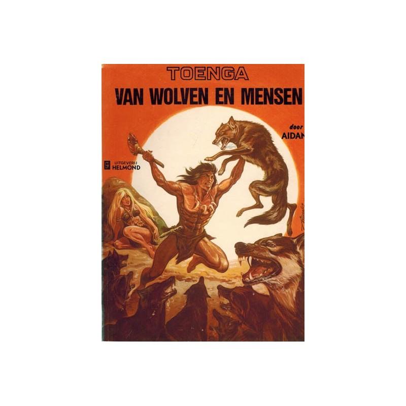 Toenga 03 Van wolven en mensen 1e druk Helmond 1975