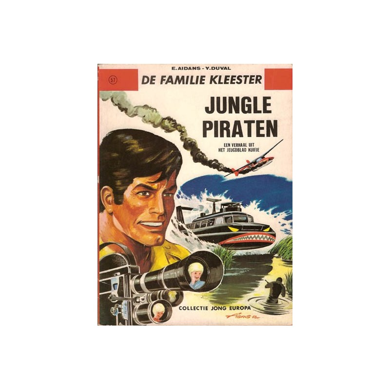 Familie Kleester Jungle piraten Collectie Jong Europa 57 1e druk Helmond 1969