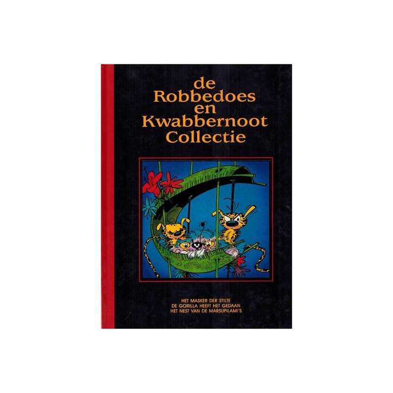 Robbedoes en Kwabbernoot collectie HC 04 Het masker der stilte 1e druk 1993