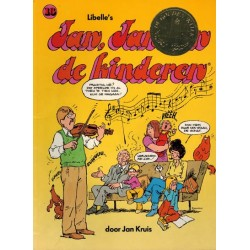 Jan, Jans en de kinderen 16 1996 1e druk met preeg De gouden kater