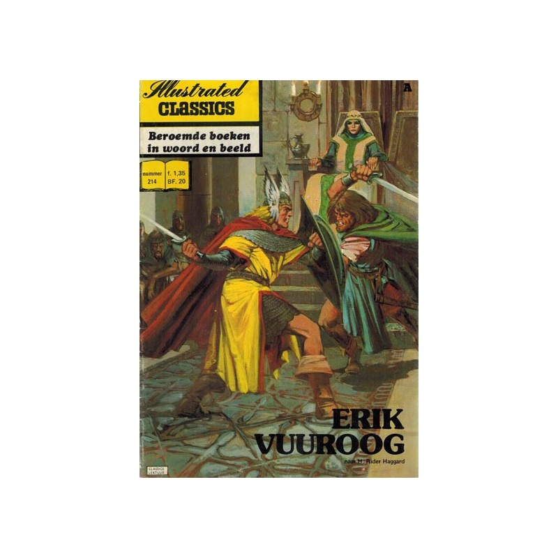 Illustrated Classics 214 Erik Vuuroog1e druk 1976