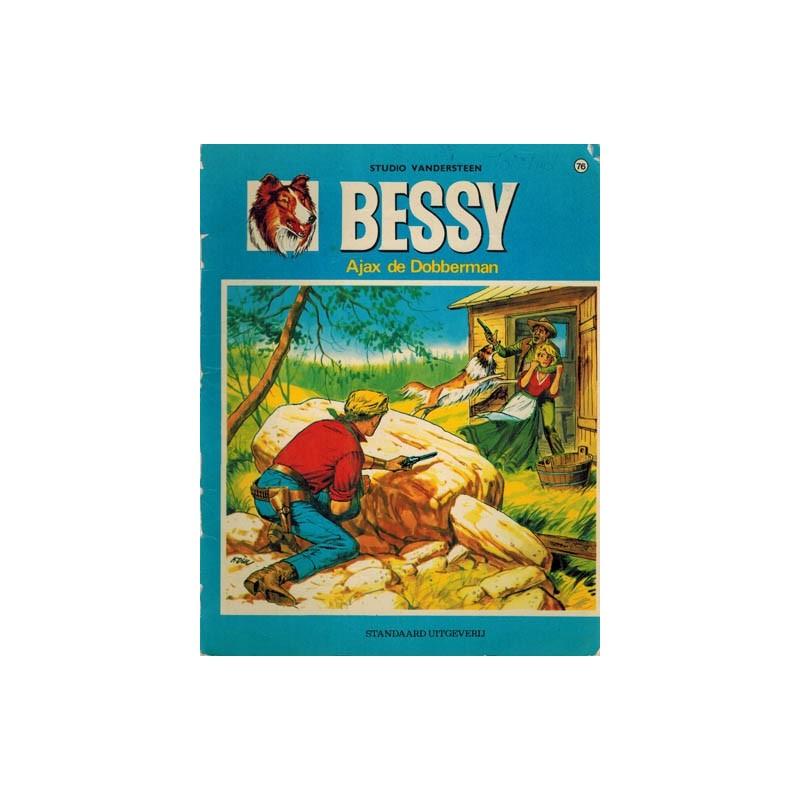 Bessy 076% Ajax de Dobberman 1e druk 1969