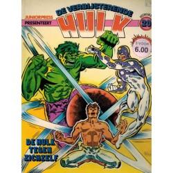 Hulk album 20 De Hulk tegen zichzelf 1e druk 1982