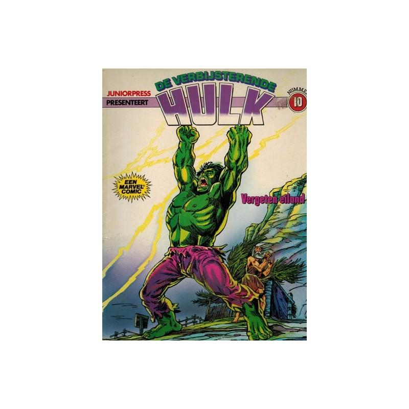 Hulk album 10 Vergeten eiland 1e druk 1980