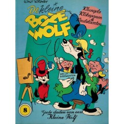 Kleine Boze Wolf 08 Klungels, klikspanen & krulstaarten 1e druk 1981