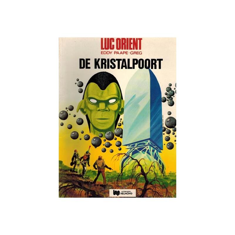 Luc Orient 12 De kristalpoort herdruk Helmond 1977