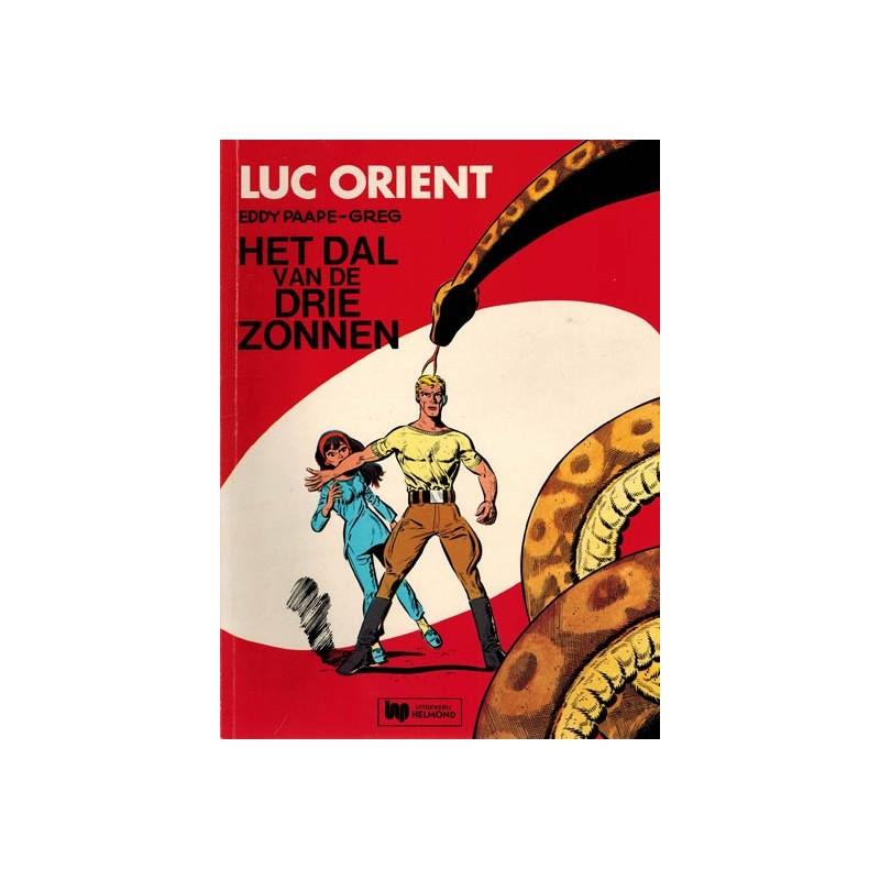 Luc Orient 01 Het dal van de drie zonnen herdruk Helmond