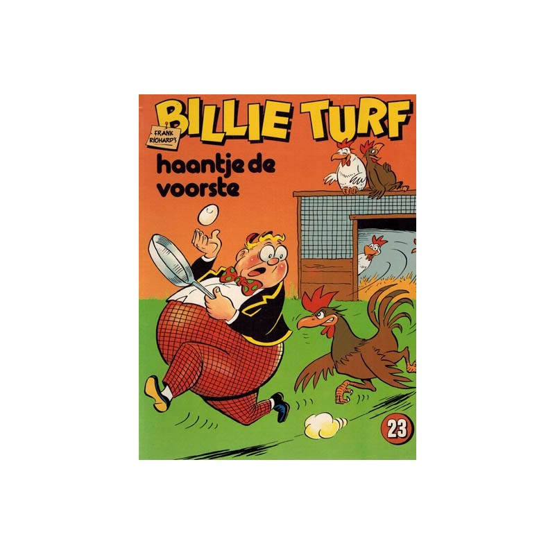 Billie Turf 23 Haantje de voorste 1e druk 1982
