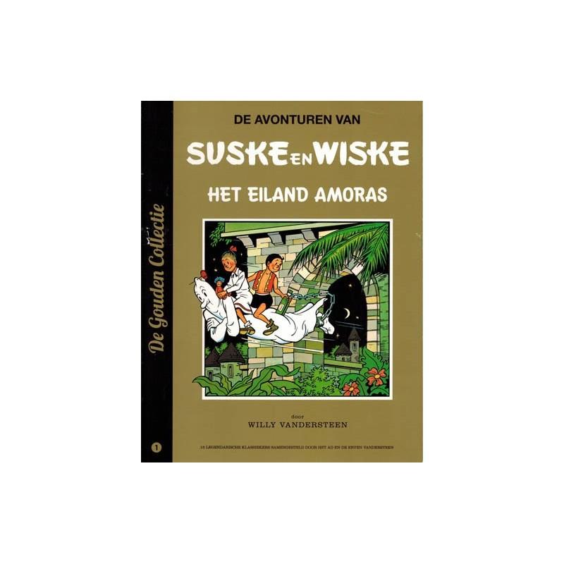 Suske & Wiske reclamealbum De gouden collectie 01 Het eiland Amoras 1e druk 2013