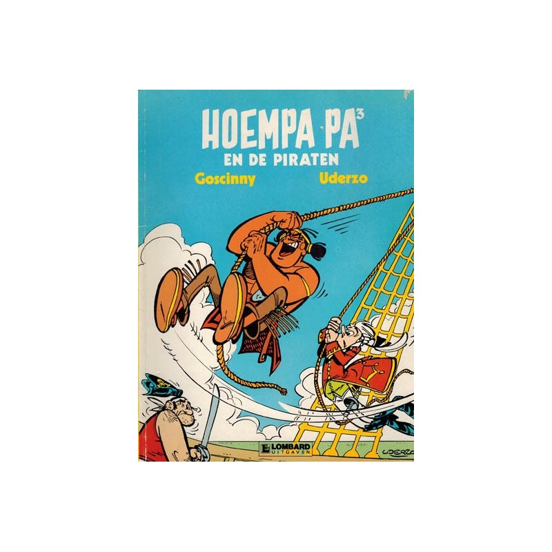 Hoempa Pa 03 De piraten 1e druk 1987