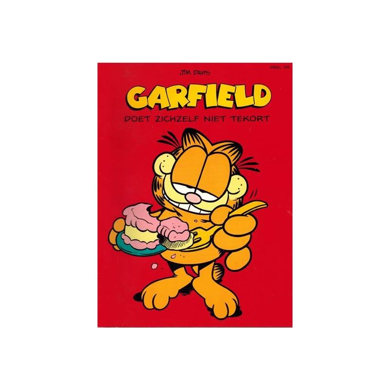 Garfield 055 Doet zichzelf niet tekort 1e druk 1998