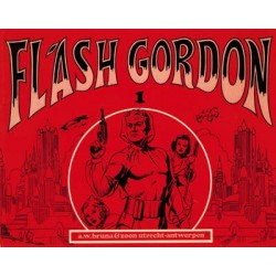 Flash Gordon set deel 1 t/m oblong Bruna 1e drukken 1972-1973