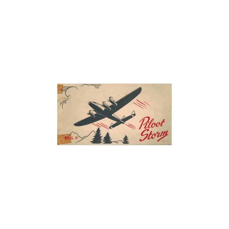 Piloot Storm reclame-album Turkstra beschuit deel 2% 1e druk 1952