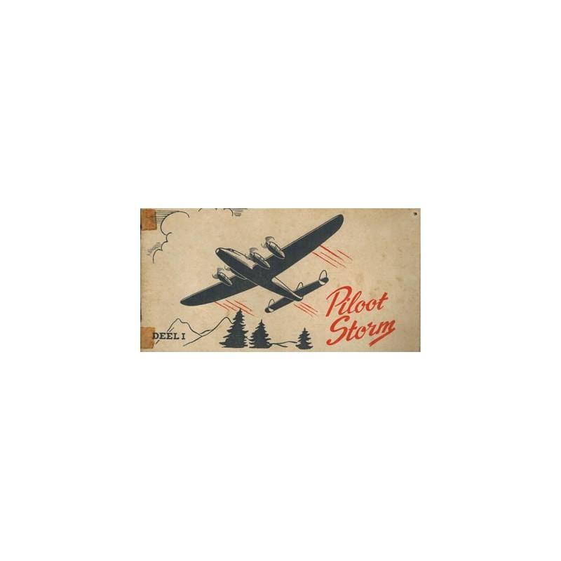 Piloot Storm reclame-album Turkstra beschuit deel 1 1e druk 1951